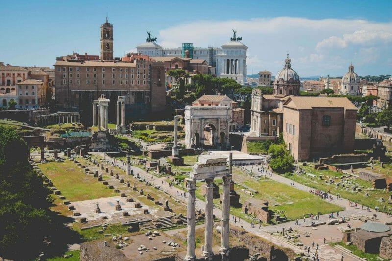 Landmarks in Rome