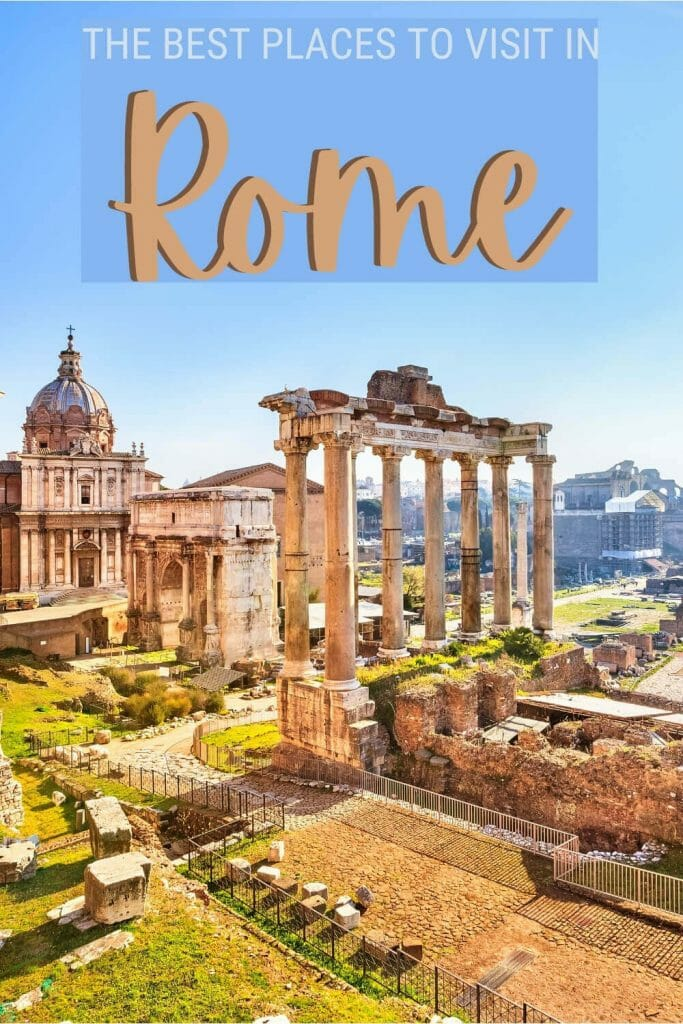 Discover the best places to visit in Rome - via @strictlyrome