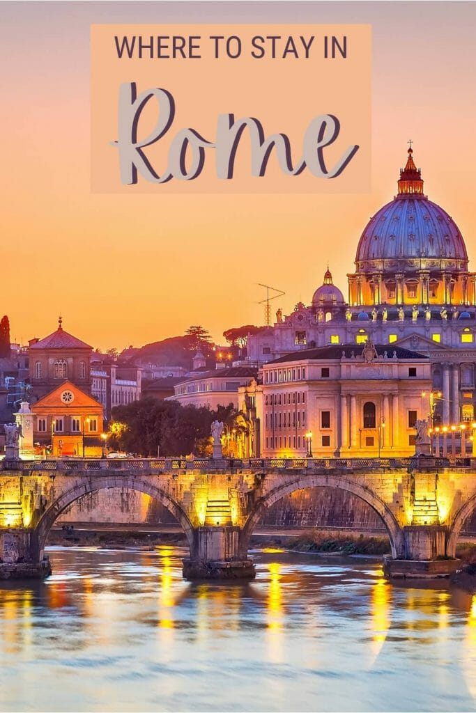 Discover the best places to stay in Rome - via @strictlyrome
