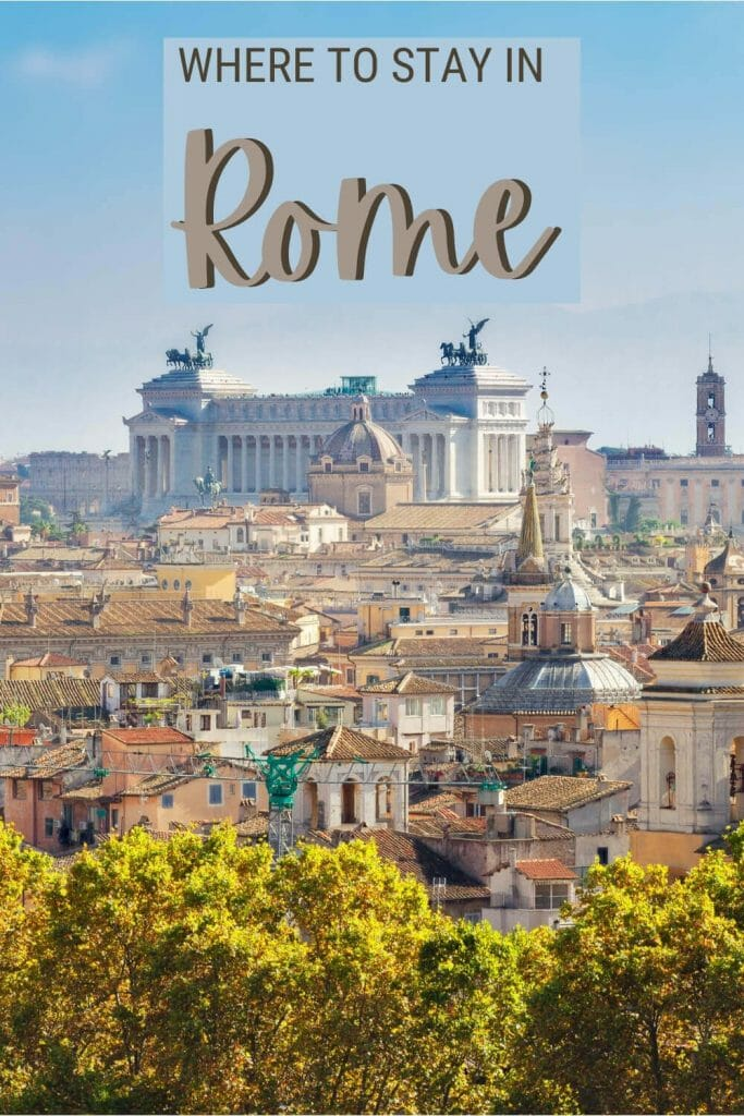 Read about the best places to stay in Rome - via @strictlyrome