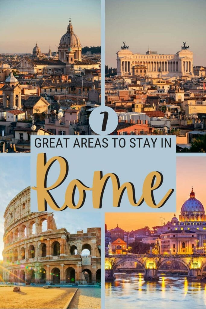 Learn where to stay in Rome - via @strictlyrome