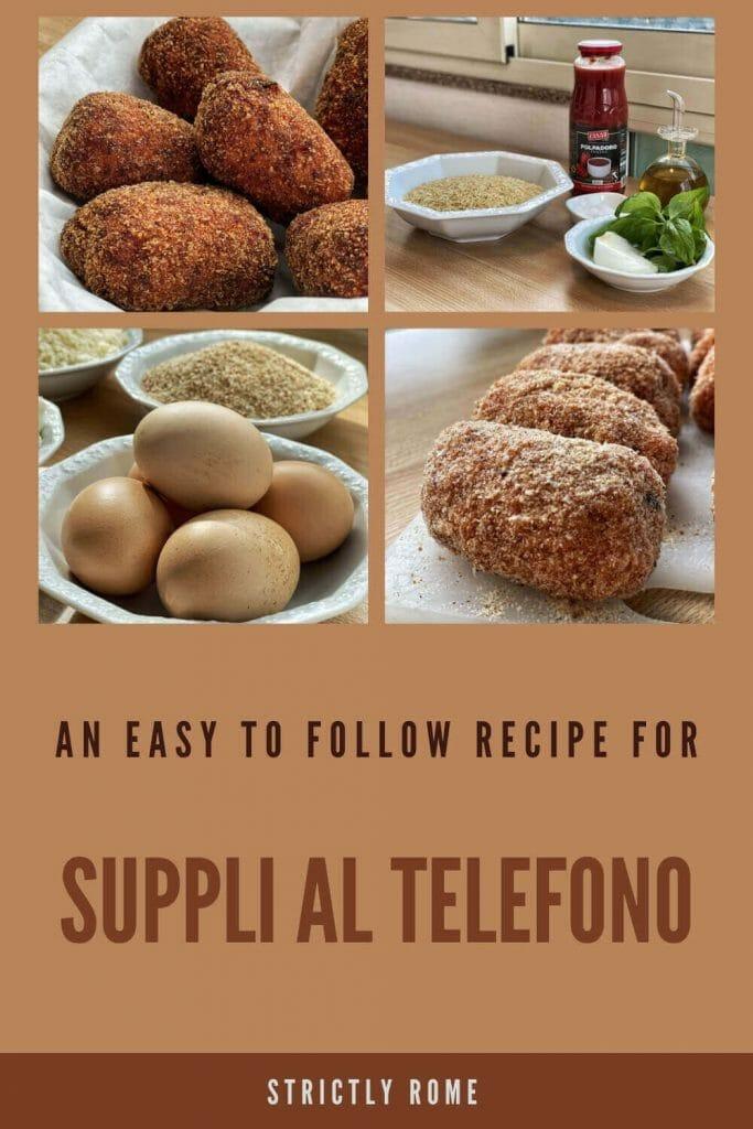 Check out this recipe for supplì al telefono - via @strictlyrome