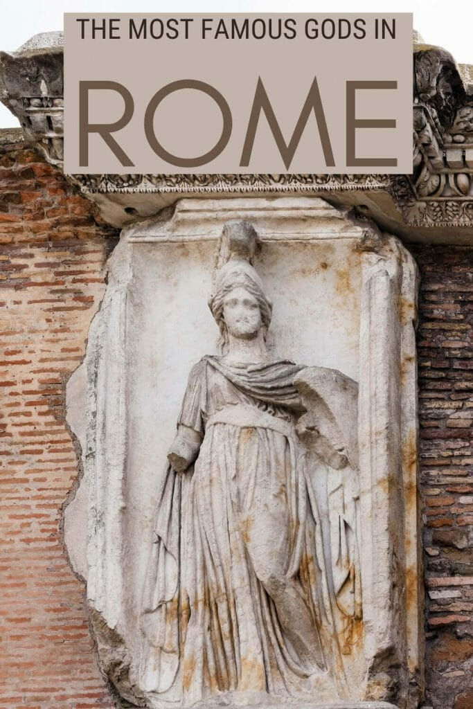 Read about the most important Roman Gods and Goddesses - via @strictlyrome