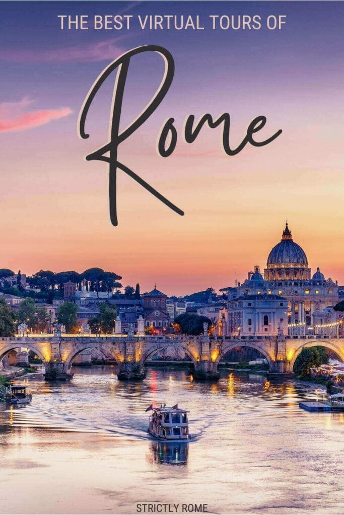 Read about the best virtual tours of Rome - via @strictlyrome