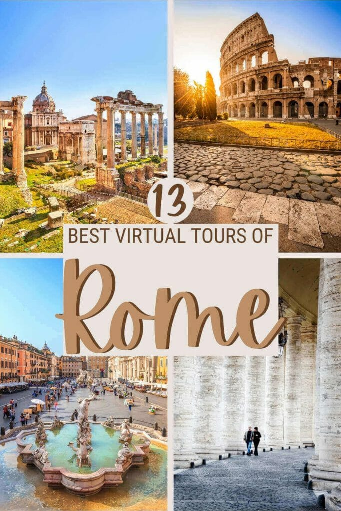 Discover Rome through Rome virtual tours - via @strictlyrome