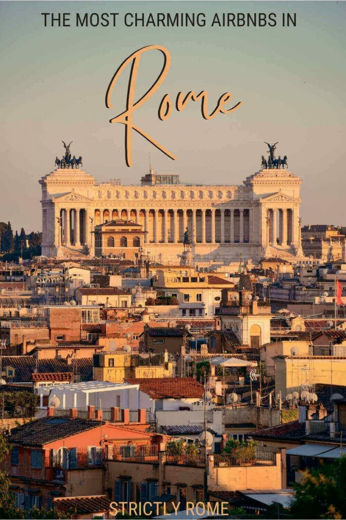 Discover the best Airbnbs in Rome - via @strictlyrome