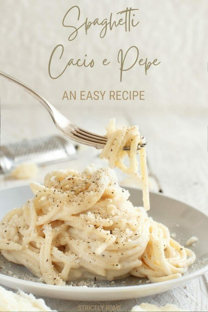 Follow this easy recipe to make the best spaghetti cacio e pepe - via @strictlyrome