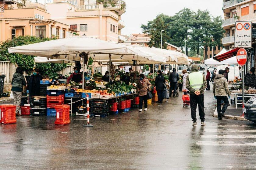 Markets in Rome