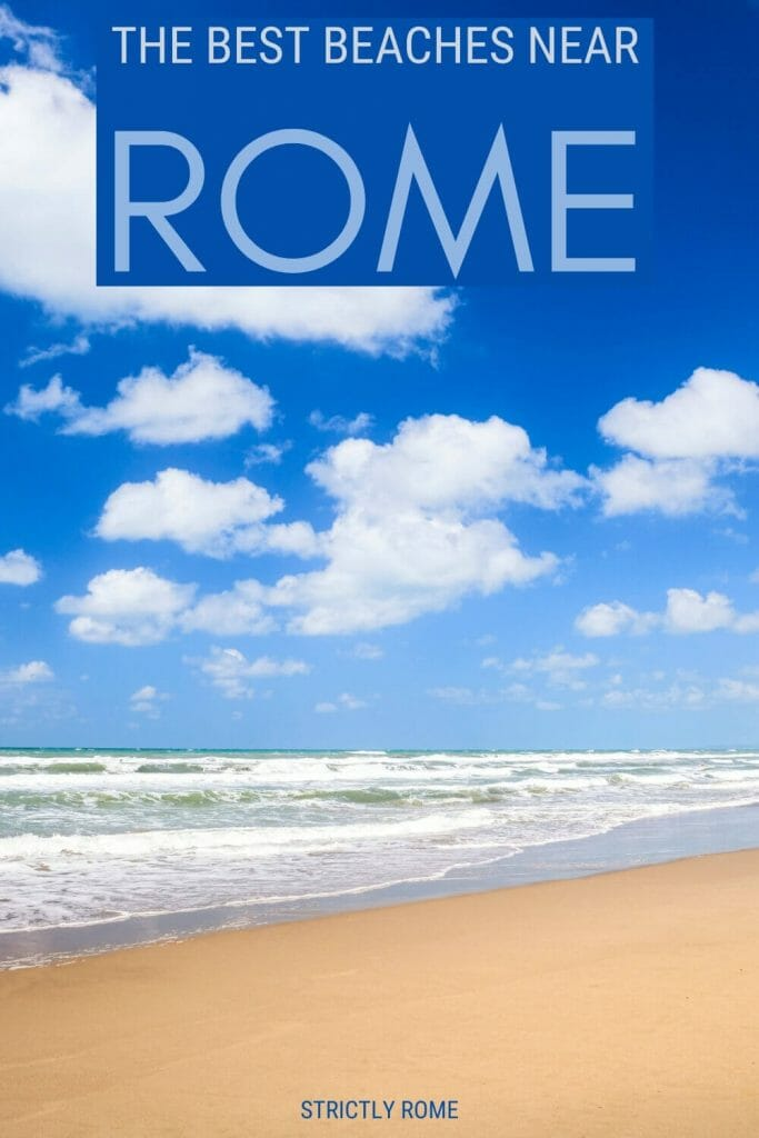 Discover the best beaches near Rome - via @strictlyrome