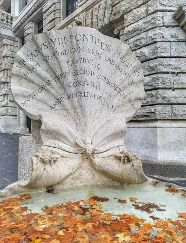 Famous Fountains in Rome