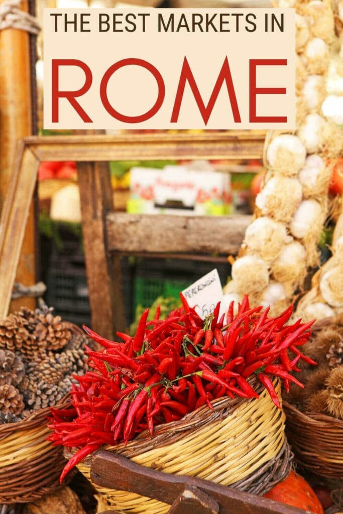 Discover the best markets in Rome - via @strictlyrome