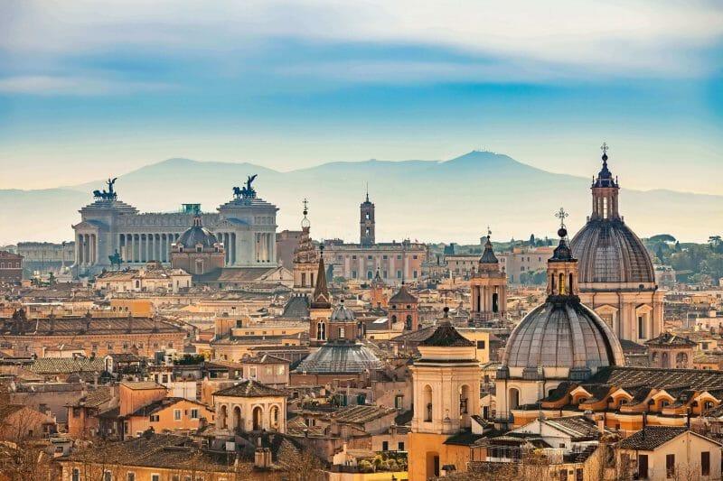Seven Hills of Rome Aventino
