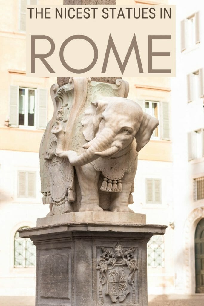 Read about the most interesting statues in Rome - via @strictlyrome