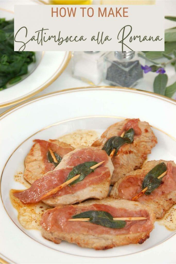 Check out this easy recipe for saltimbocca alla romana - via @strictlyrome
