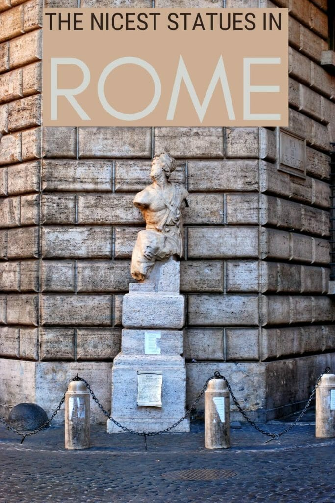 Read about Rome's most famous statues - via @strictlyrome
