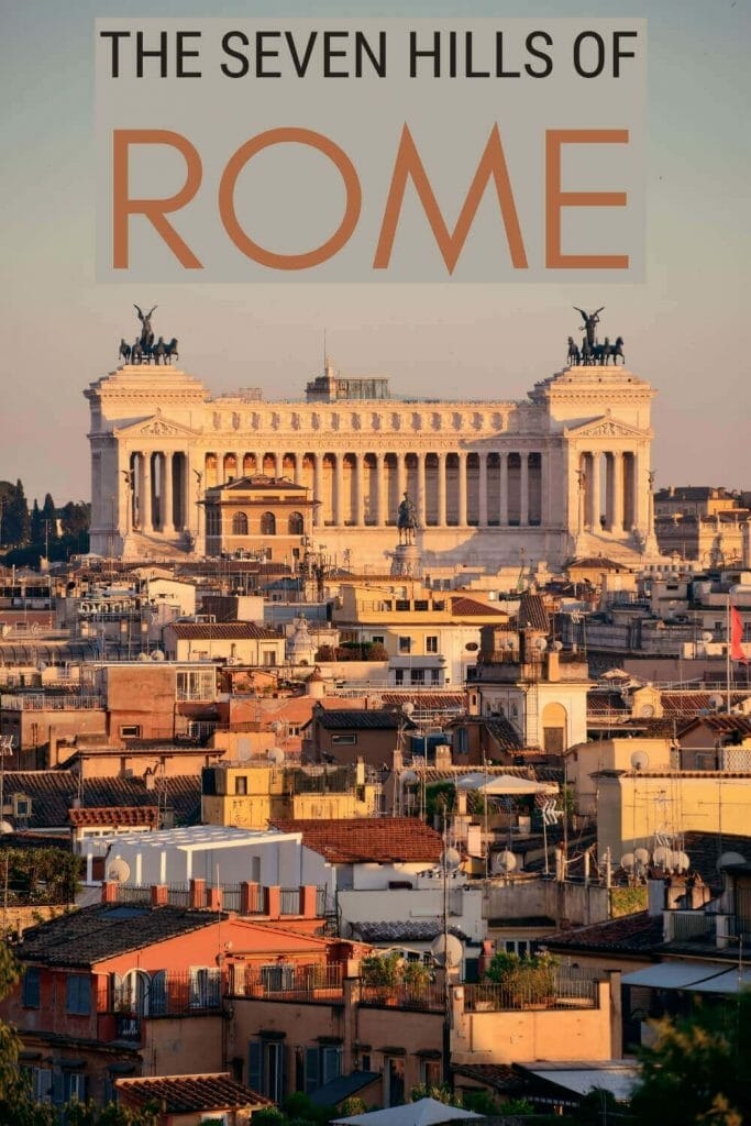 Find out more about the Seven Hills of Rome - via @strictlyrome