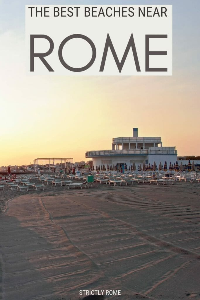 Read about the best beaches near Rome - via @strictlyrome