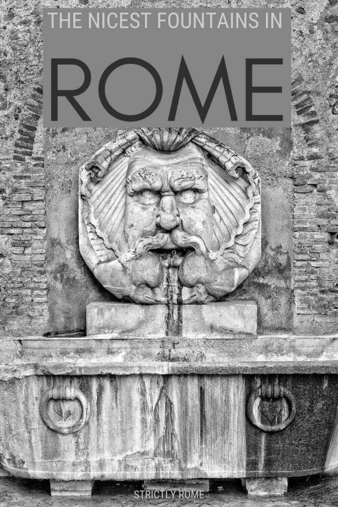 Discover the nicest fountains in Rome - via @strictlyrome