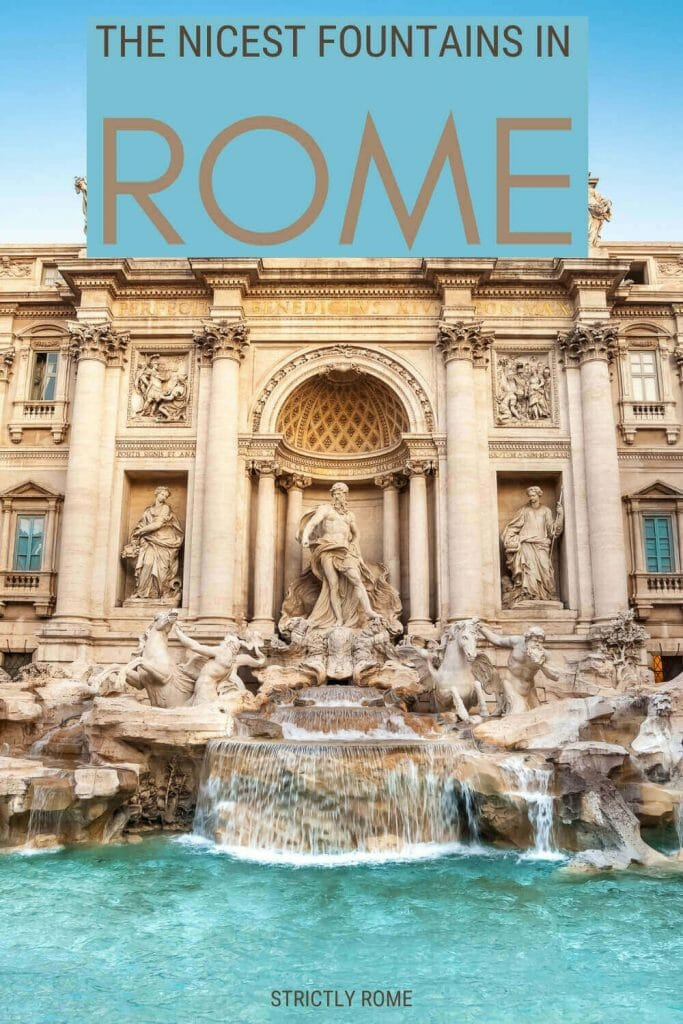 Read about the most famous fountains in Rome - via @strictlyrome