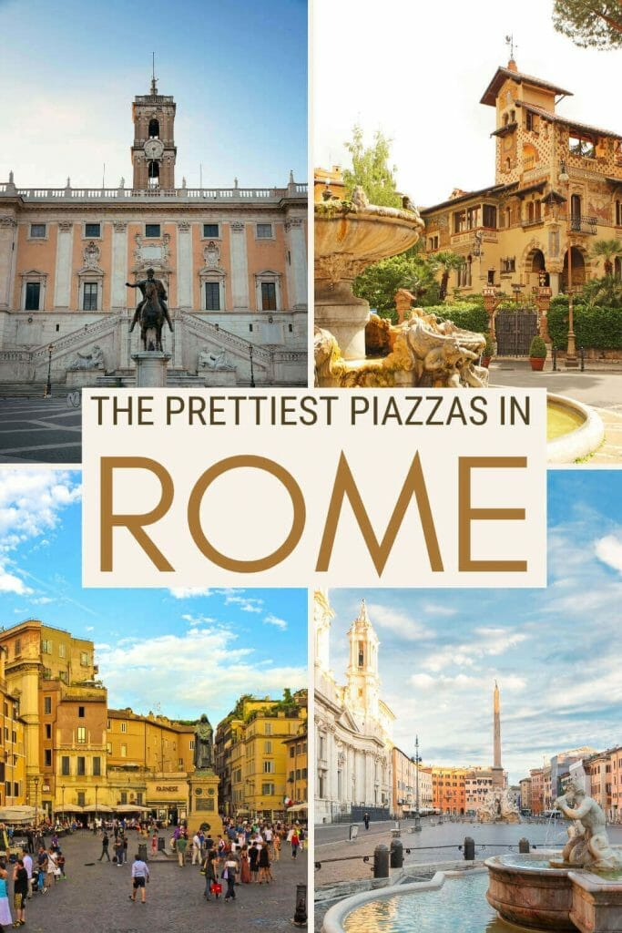 Discover the best piazzas in Rome - via @strictlyrome