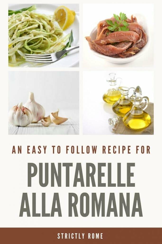 Check out this easy recipe to prepare puntarelle alla romana - via @strictlyrome