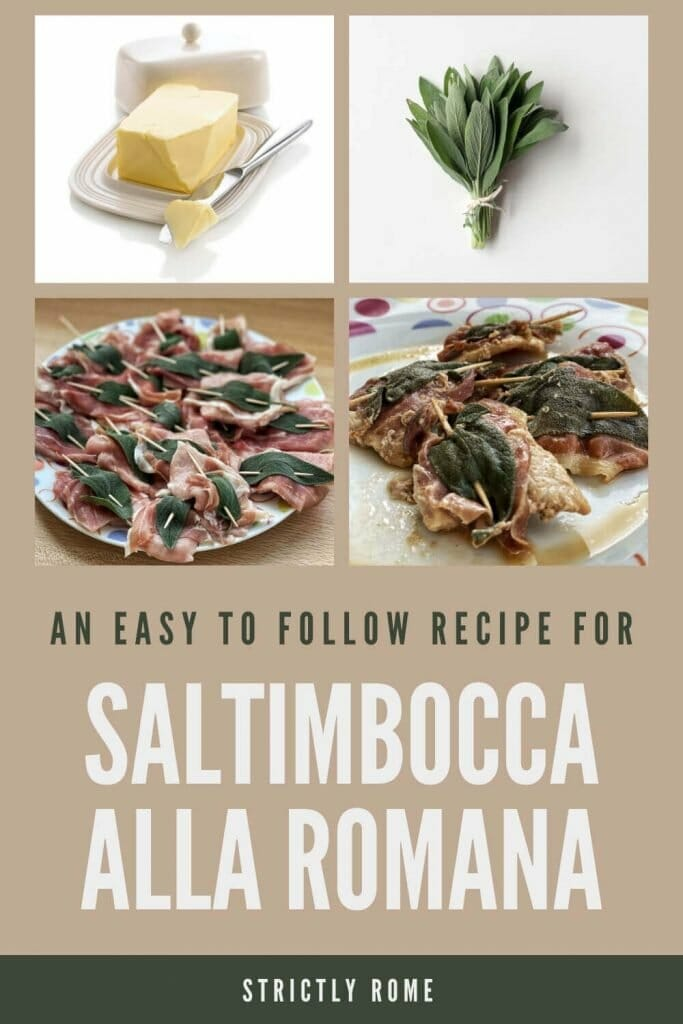 Learn how to make saltimbocca alla romana - via @strictlyrome