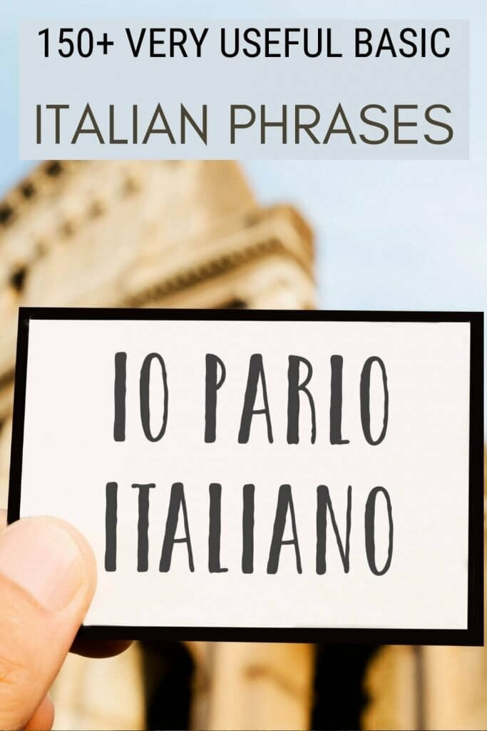 Discover the most useful Italian phrases for tourists - via @strictlyrome
