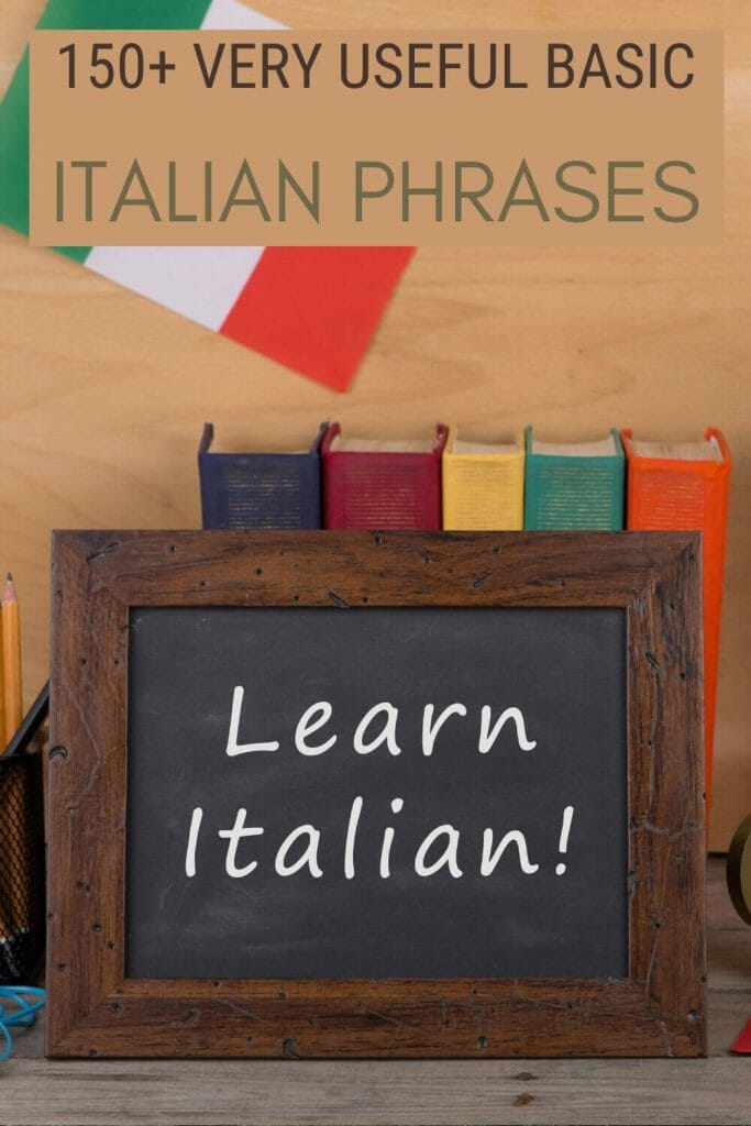 Learn basic Italian phrases for tourists - via @strictlyrome