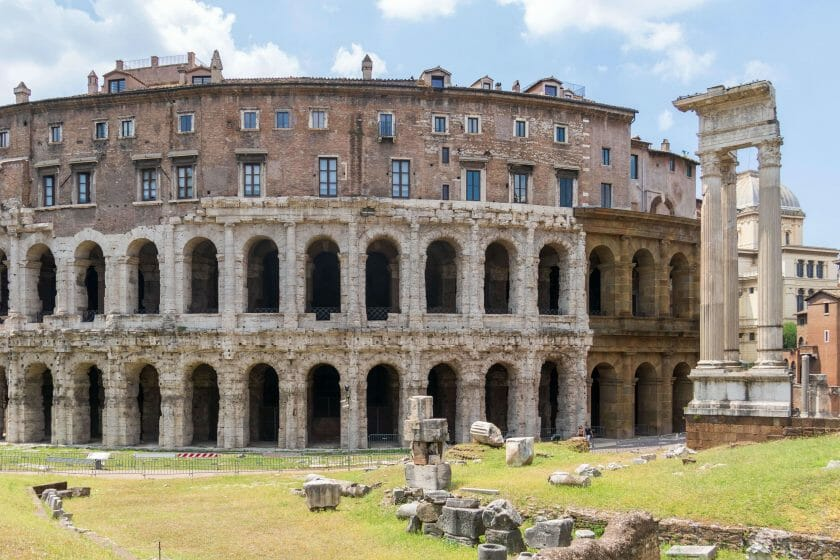 Most famous buildings in Rome