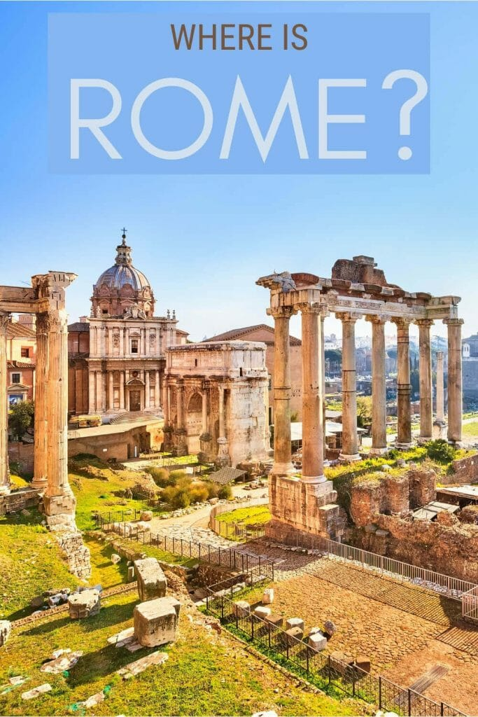 Learn where is Rome and more interesting facts about Rome - via @strictlyrome