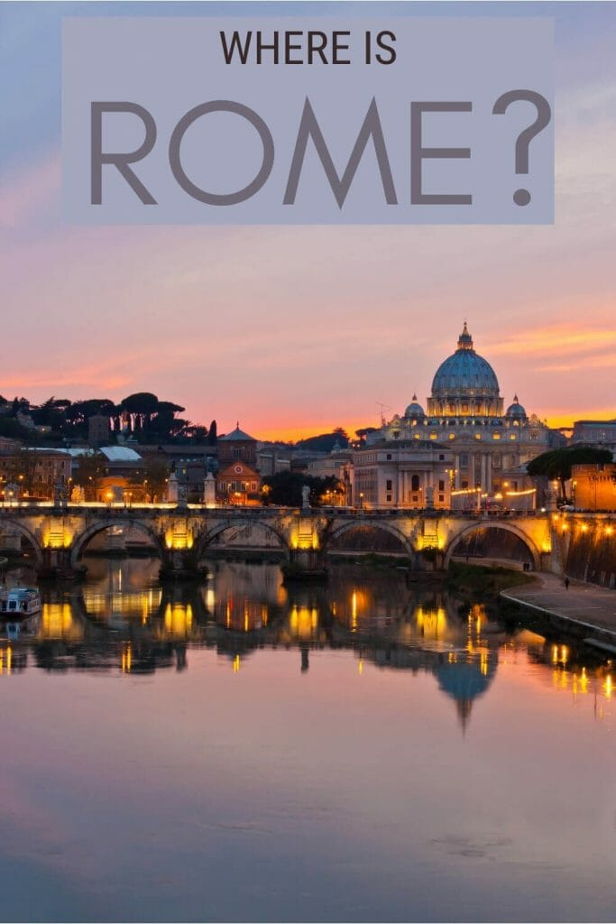 Discover where is Rome - via @strictlyrome