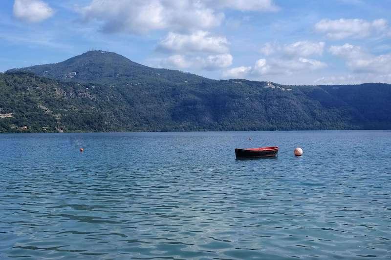 Lakes near Rome Lago di Albano