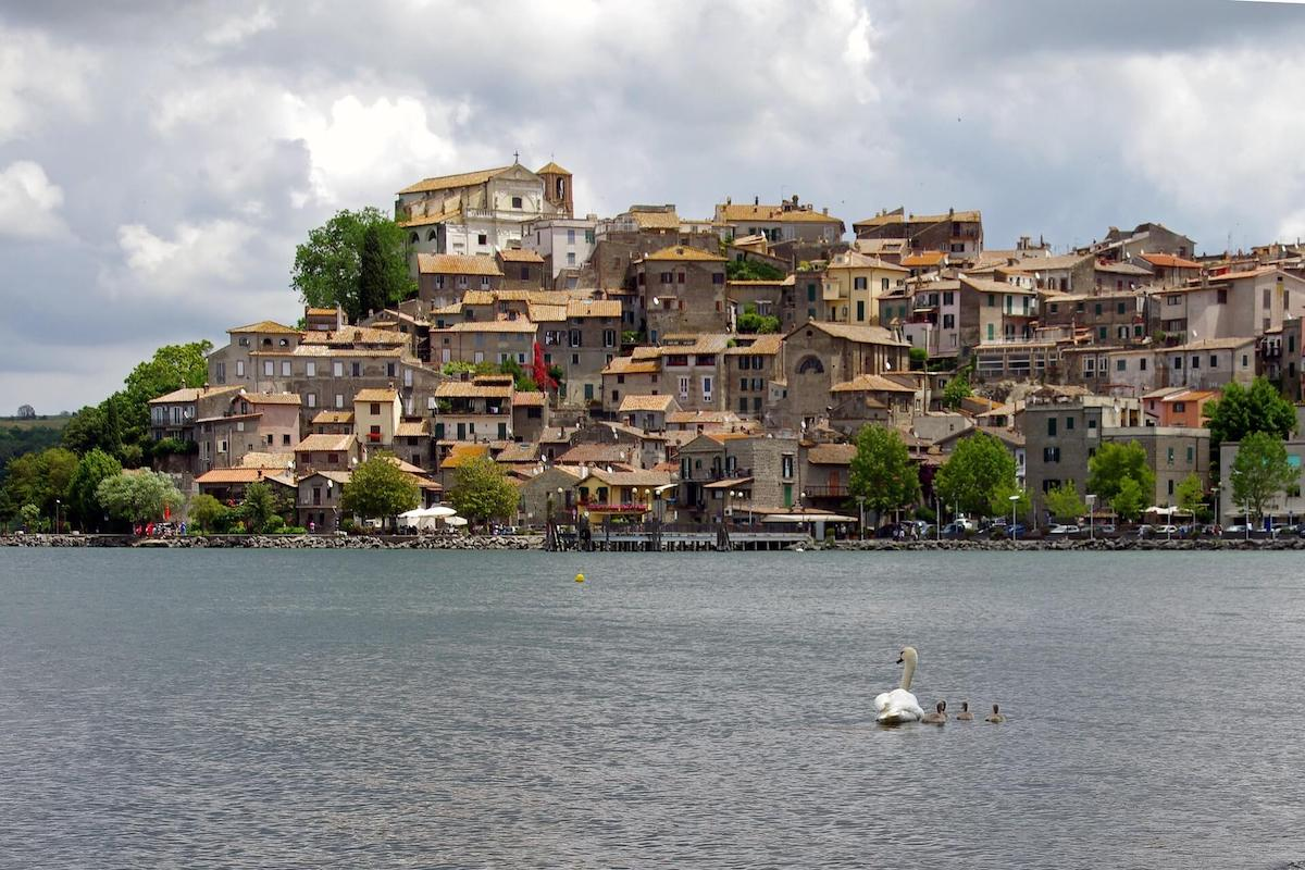 Lakes near Rome