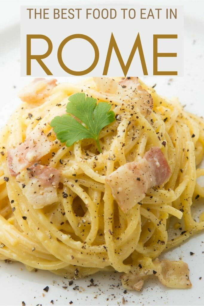 Discover what to eat in Rome - via @strictlyrome