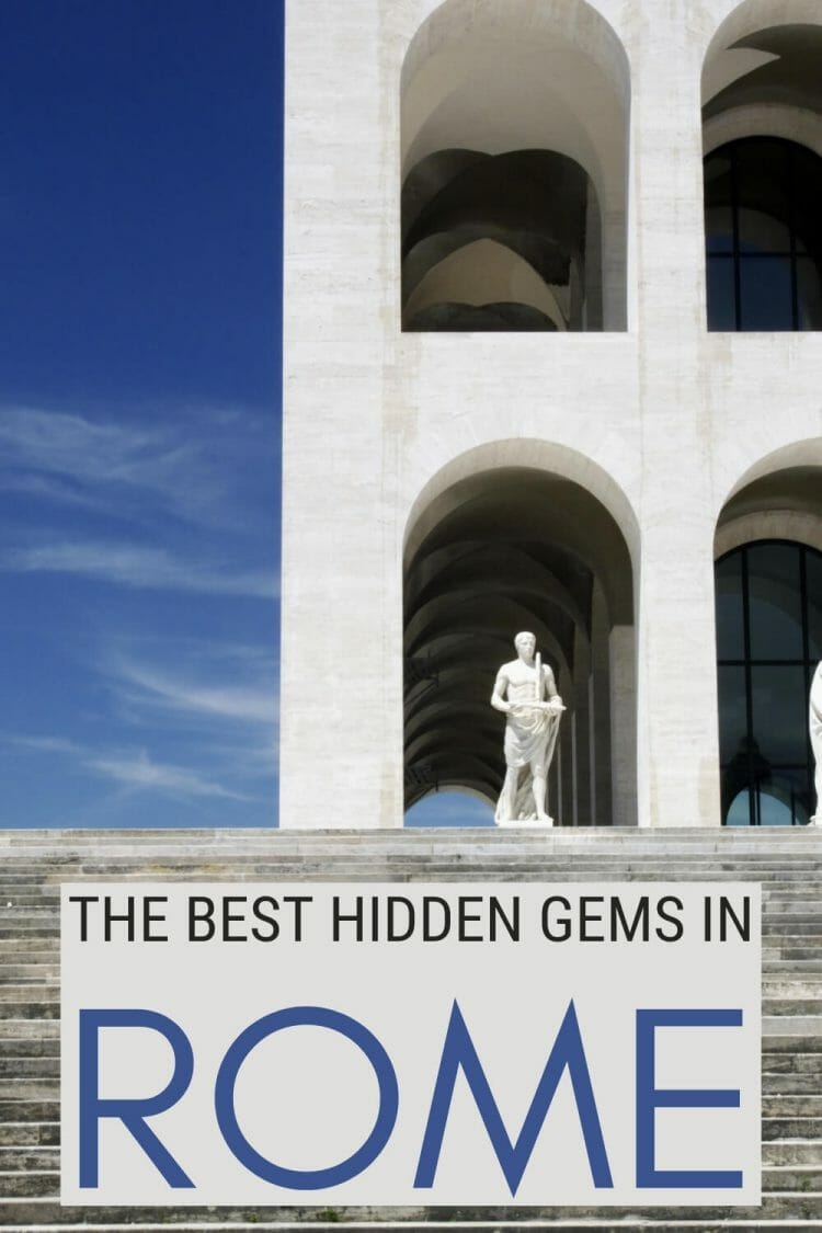 Discover the best hidden gems in Rome - via @strictlyrome