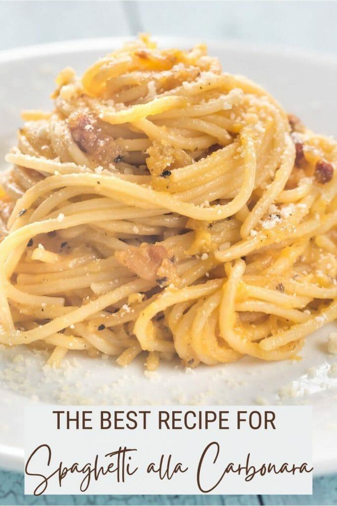 Check out this recipe to make spaghetti alla carbonara - via @strictlyrome