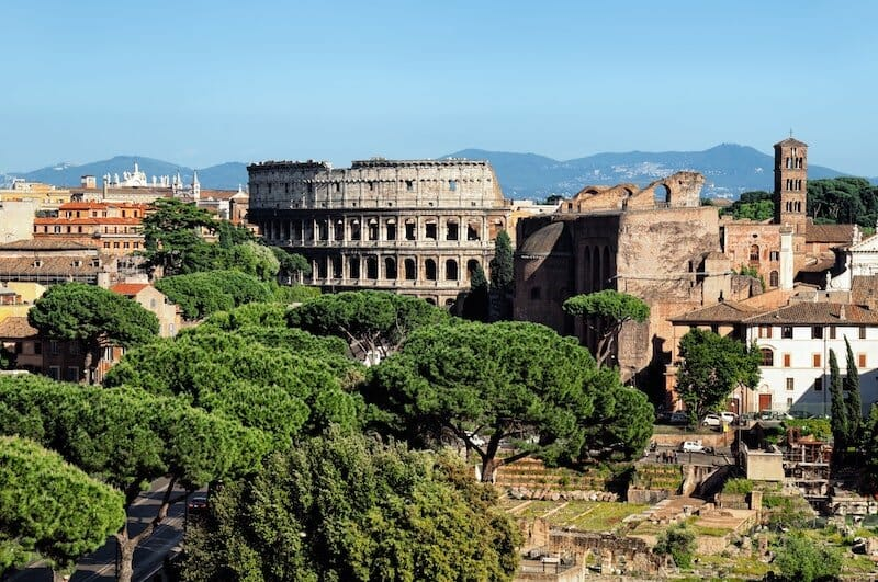 Hotels near the Colosseum Rome