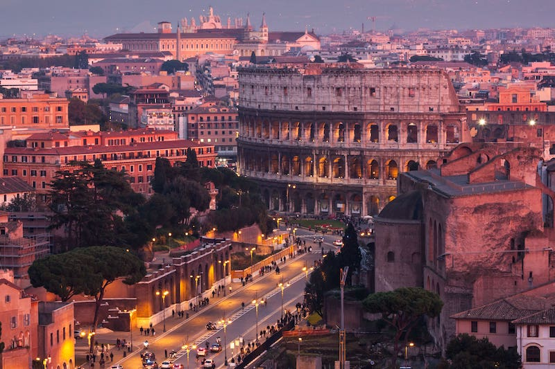 Hotels near the Colosseum