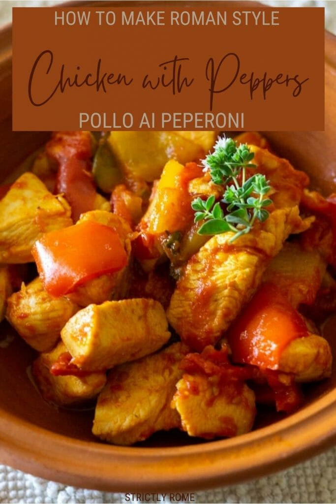 Check out this recipe for pollo ai peperoni Roman style - via @strictlyrome