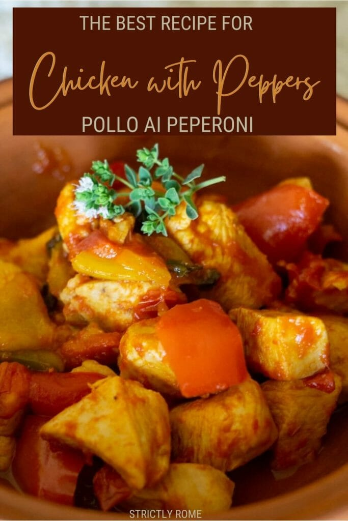 Discover how to make pollo con peperoni in 9 easy steps - via @strictlyrome