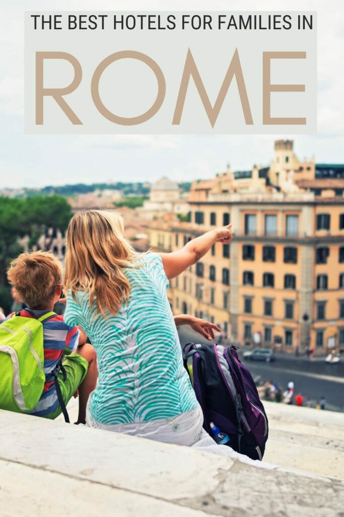 Discover the best family hotels in Rome - via @strictlyrome