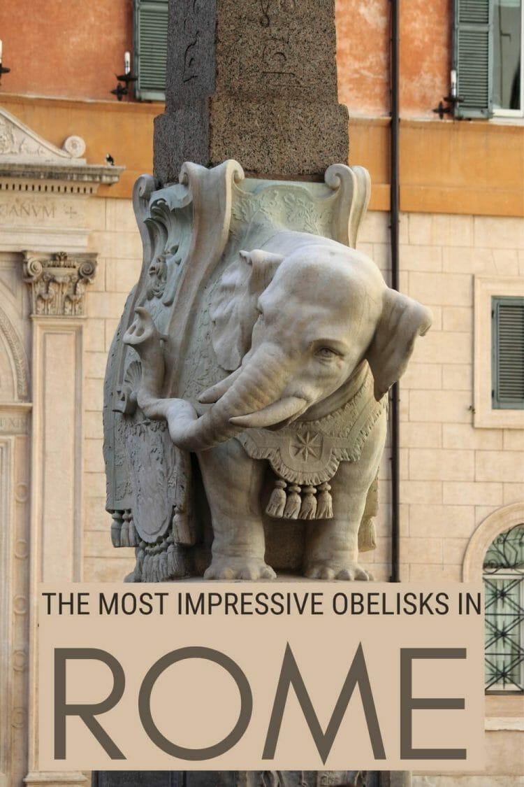Read about the most impressive obelisks in Rome - via @strictlyrome