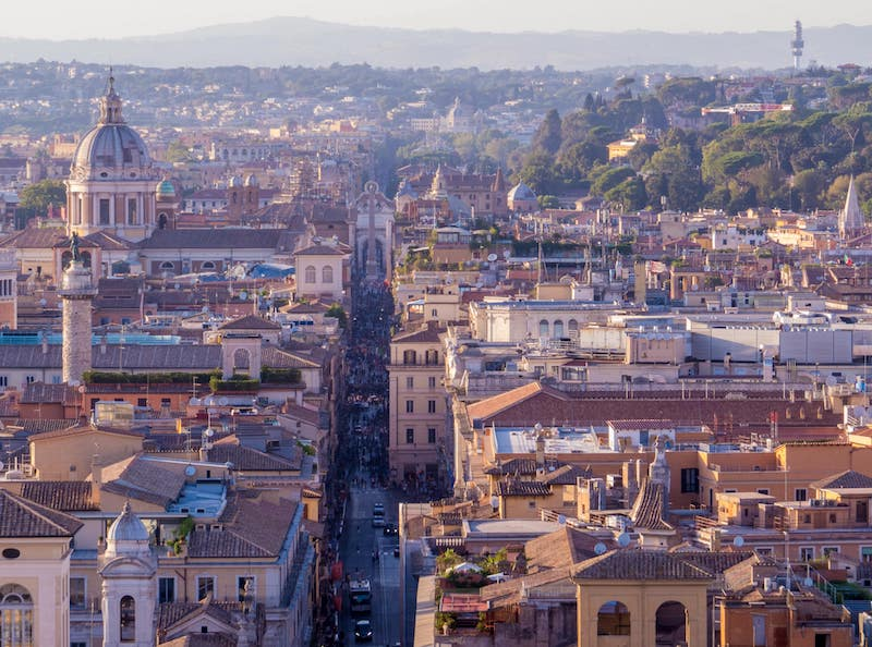 hotels for families in Rome