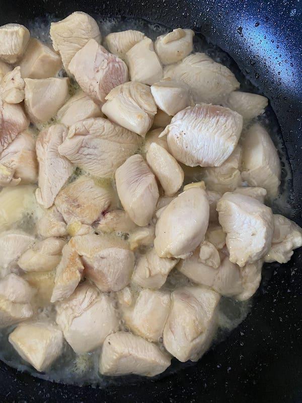chicken cooking