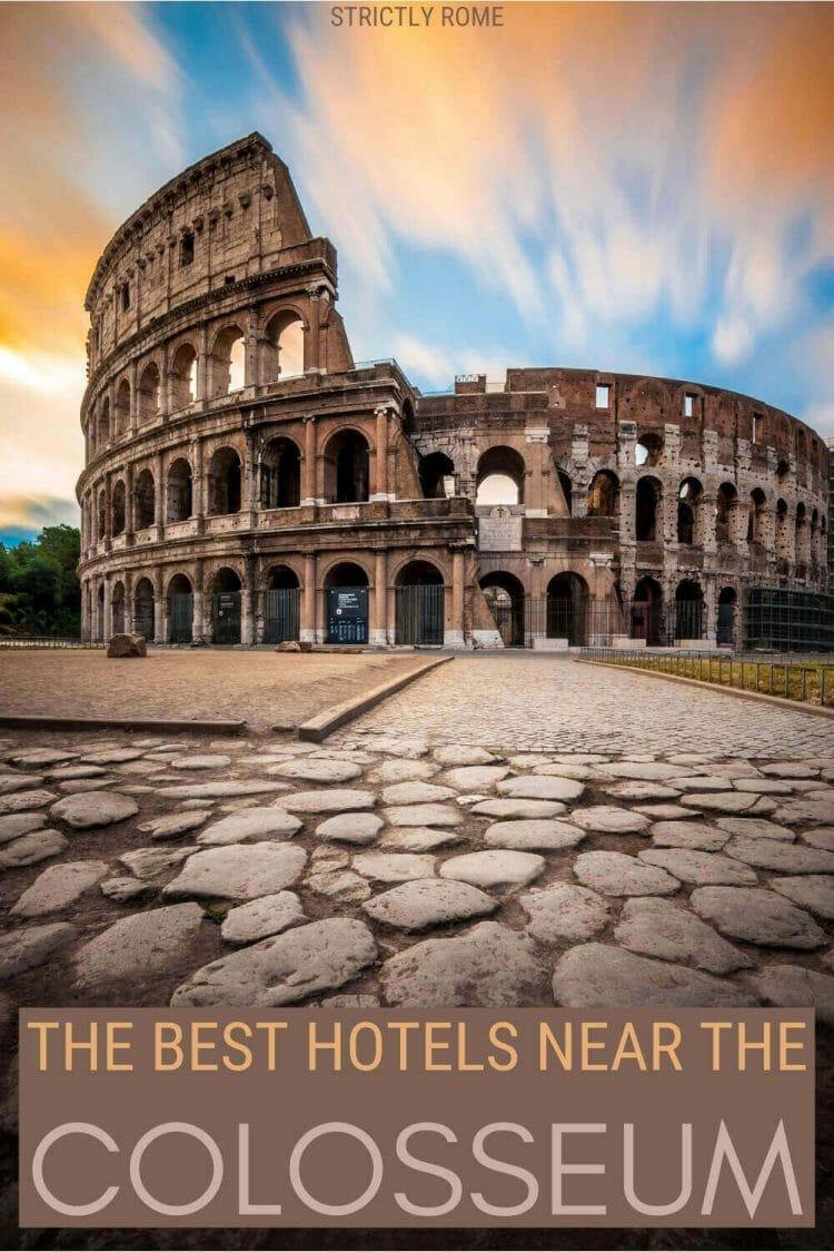 Check out the best hotels near the Colosseum Rome - via @strictlyrome