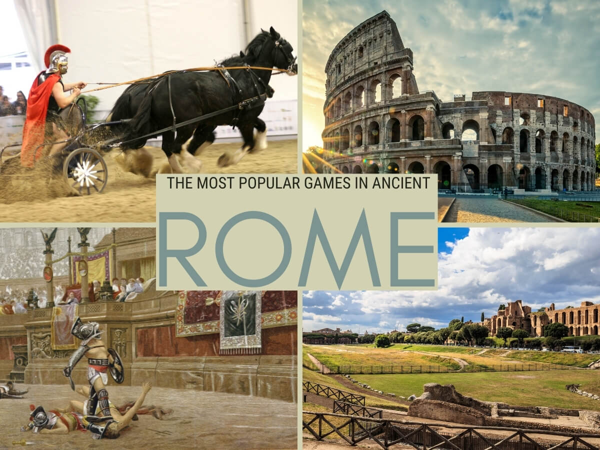 GAMES IN ANCIENT ROME