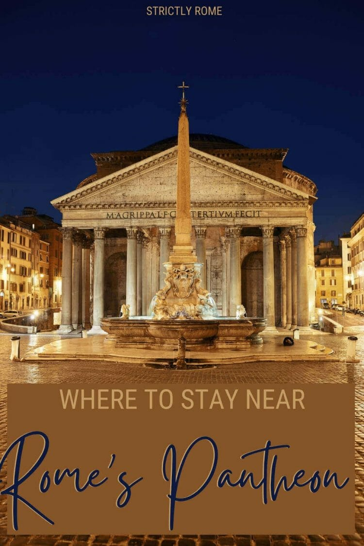 Check out the best hotels near the Pantheon, Rome - via @strictlyrome