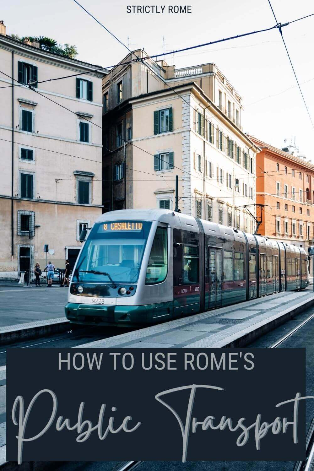 Learn how to use public transport in Rome - via @strictlyrome