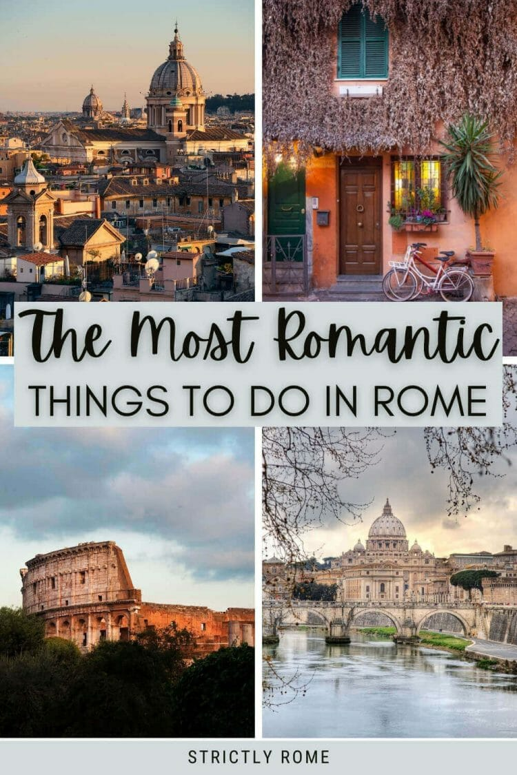 Discover the most romantic things to do in Rome - via @strictlyrome