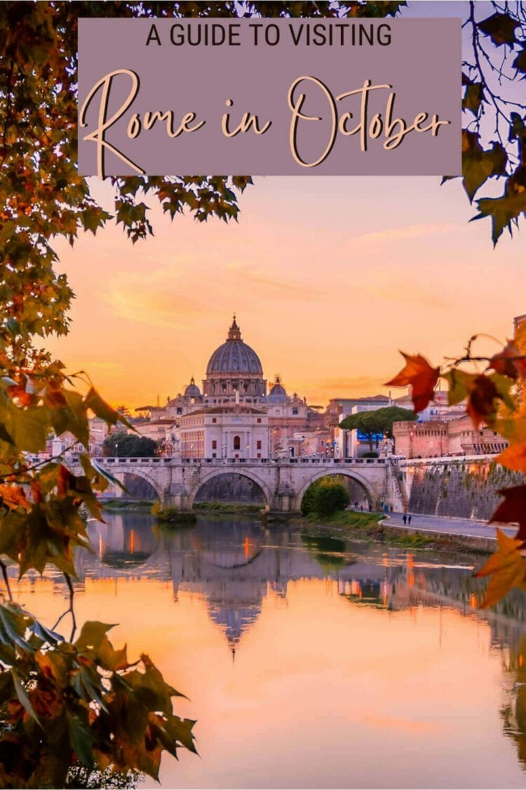 Discover what to see and do in Rome in October - via @strictlyrome